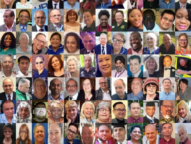 The healtcare workers who have died from Covid-19