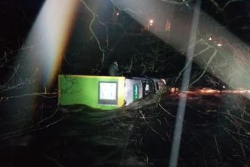 Man rescued after Morrisons  van gets stuck trying to cross ford in Weardale