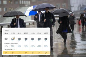 Storm Christoph: Hour by hour forecast for the North-East and Yorkshire