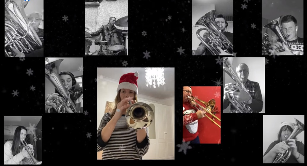 Brass band's advent calendar fundraiser for Stanley's PACT House