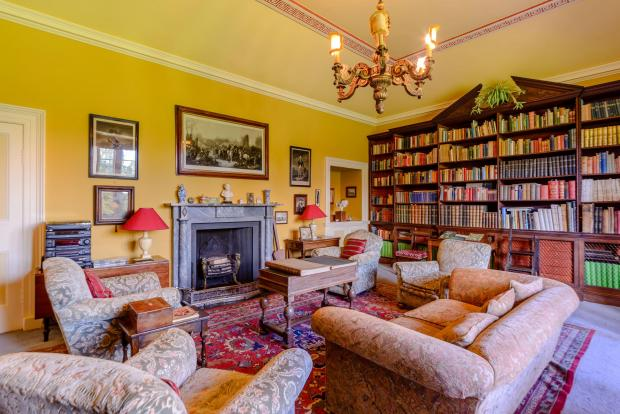 The Northern Echo: First floor library. Picture: Strutt and Parker