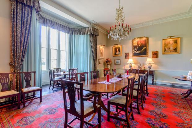 The Northern Echo: Dining room. Picture: Strutt and Parker