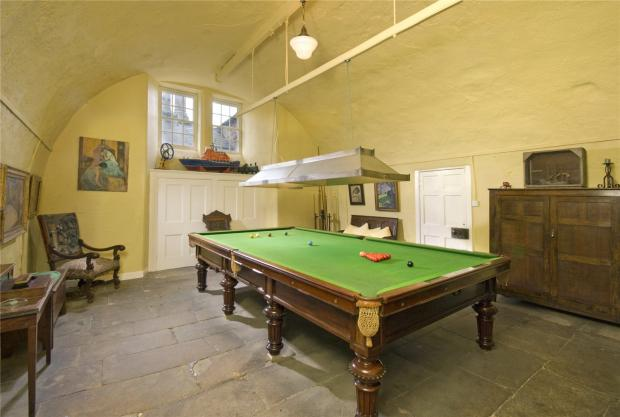 The Northern Echo: Games room. Picture: Strutt and Parker