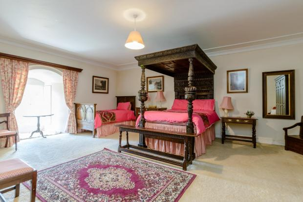 The Northern Echo: One bedroom. Picture: Strutt and Parker