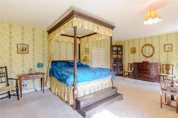 The Northern Echo: A bedroom. Picture: Strutt and Parker