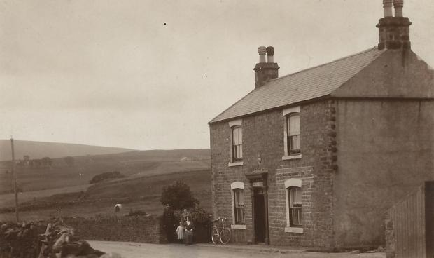 The Northern Echo: The farm at Killhope where a body was found in 1921.