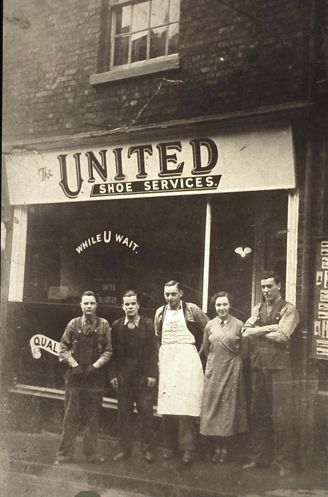 United Shoe Services, Elvet Bridge, 1930s Picture courtesy of the Gilesgate Archive