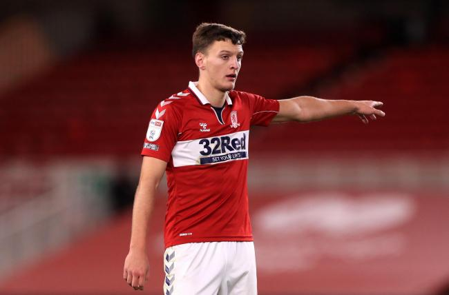 Dael Fry will make his return from an injury lay-off when Middlesbrough travel to Reading's Madejski Stadium at the weekend