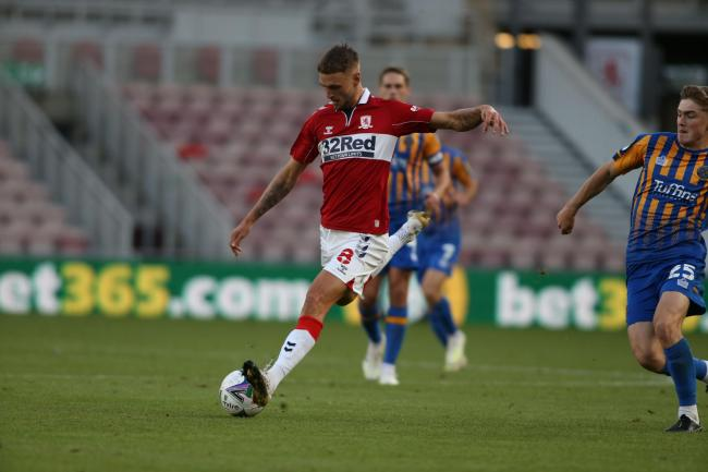 Lewis Wing is currently on loan at Rotherham from Middlesbrough