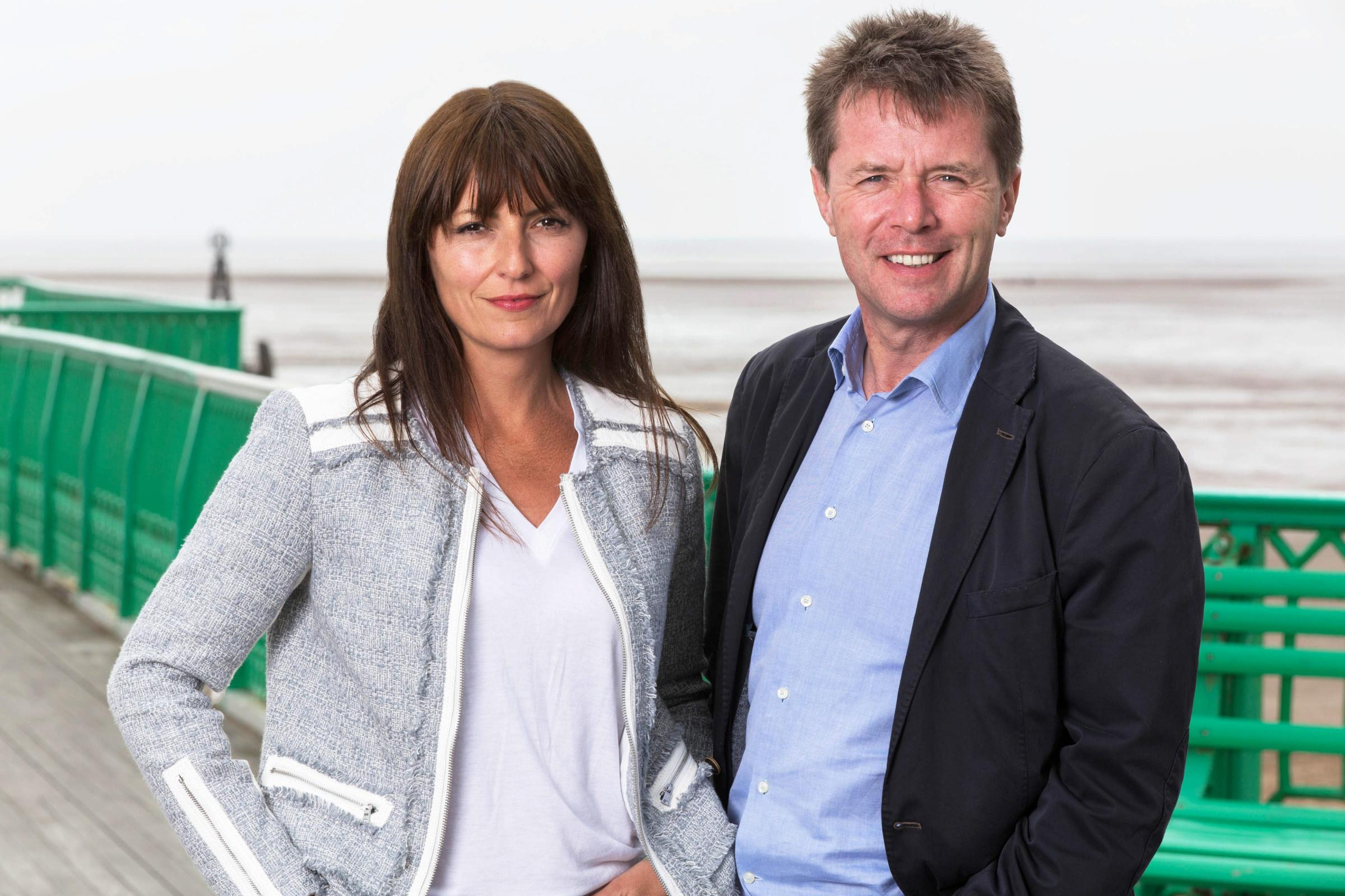 Davina McCall and Nicky Campbell