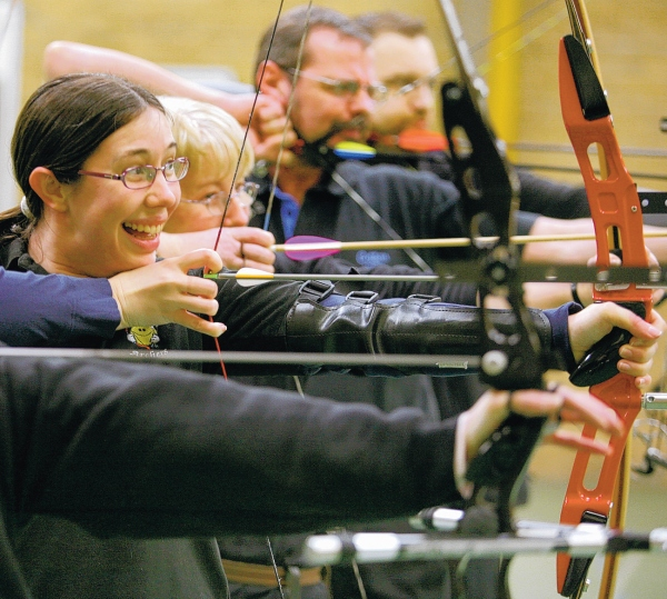 Archers Take Aim At 24 Hour Charity Marathon The Northern Echo