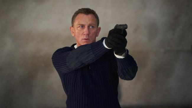 Daniel Craig in James Bond film No Time To Die