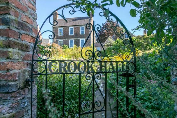 The Northern Echo: An entrance to the garden. Picture: Savills