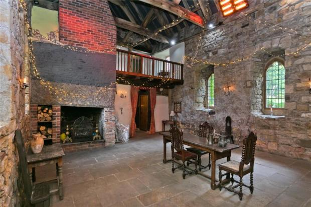 The Northern Echo: The medieval hall. Picture: Savills