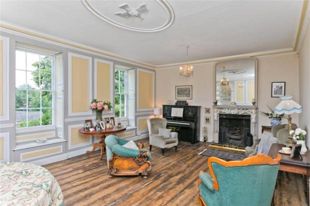 The Northern Echo: The sitting room. Picture: Savills