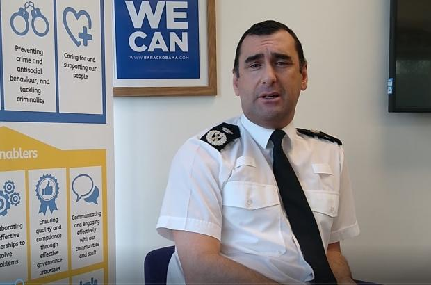 The Northern Echo: Chief Constable Richard Lewis
