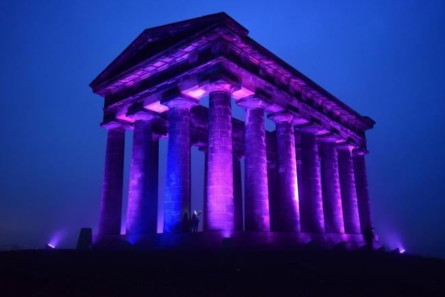 The National Trust's Penshaw Monument