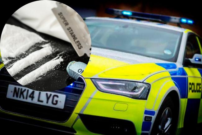 Darlington drug driver reversed car with police officer hanging through window