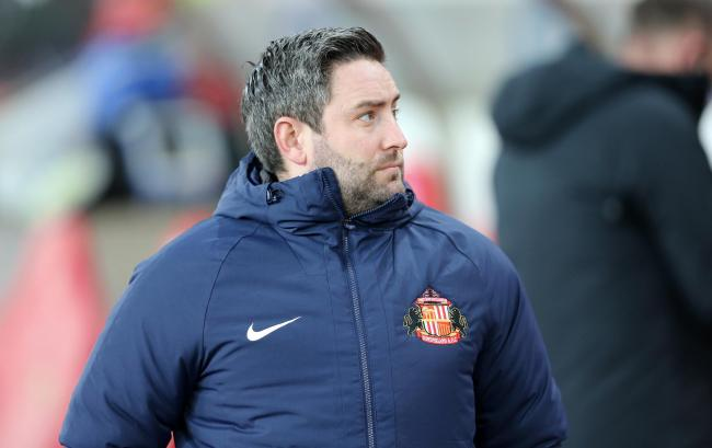 Lee Johnson was finally able to interact with some of Sunderland's supporters as lockdown measures were eased this week