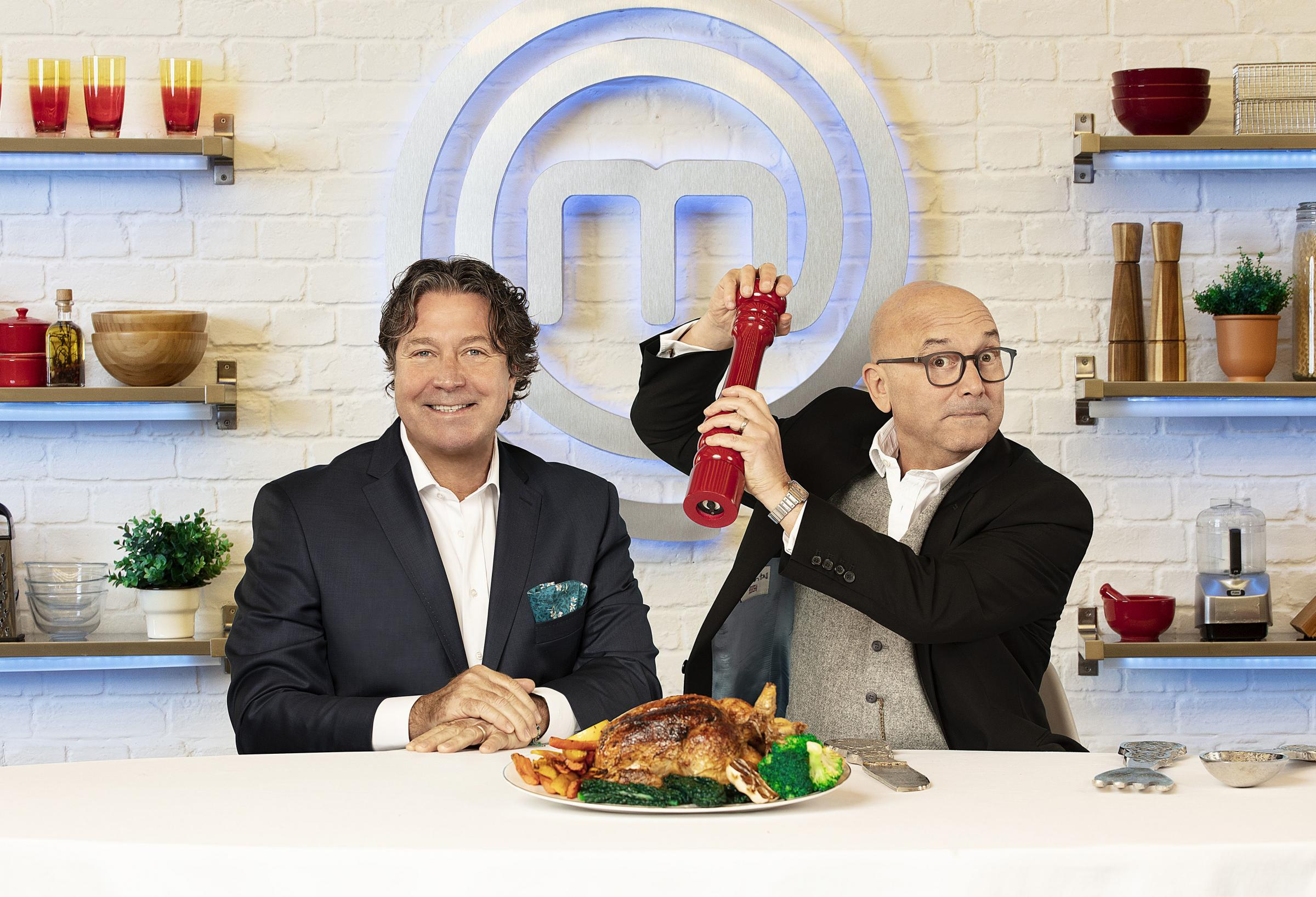 John Torode and Gregg Wallace are back for MasterChef