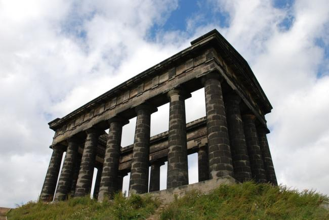 The Penshaw Monument, which stands atop Penshaw hill, remembers a reforming County Durham statesman 			Picture: JOHN A SIMPSON