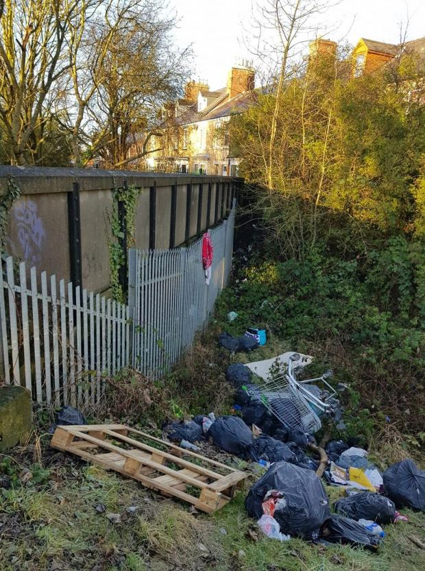 The Northern Echo: Fly-tipping is a blight on the town
