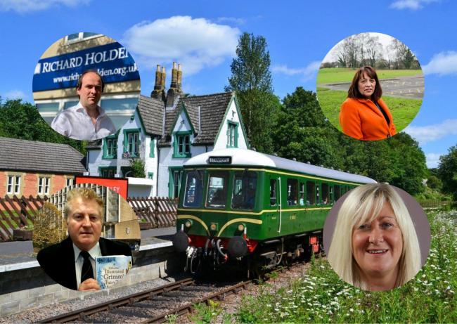 The MPs and Councillors looking to expand Weardale Railway