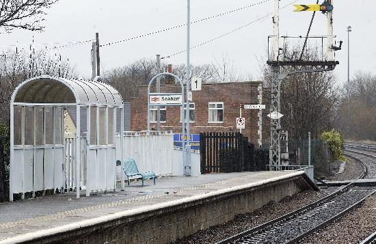 The Northern Echo: Durham County Council was to spend £82,000 on improvements to Seaham railway station Picture: DAVID WOOD