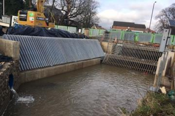 Major milestone achieved in multi-million pound Teesside flood scheme