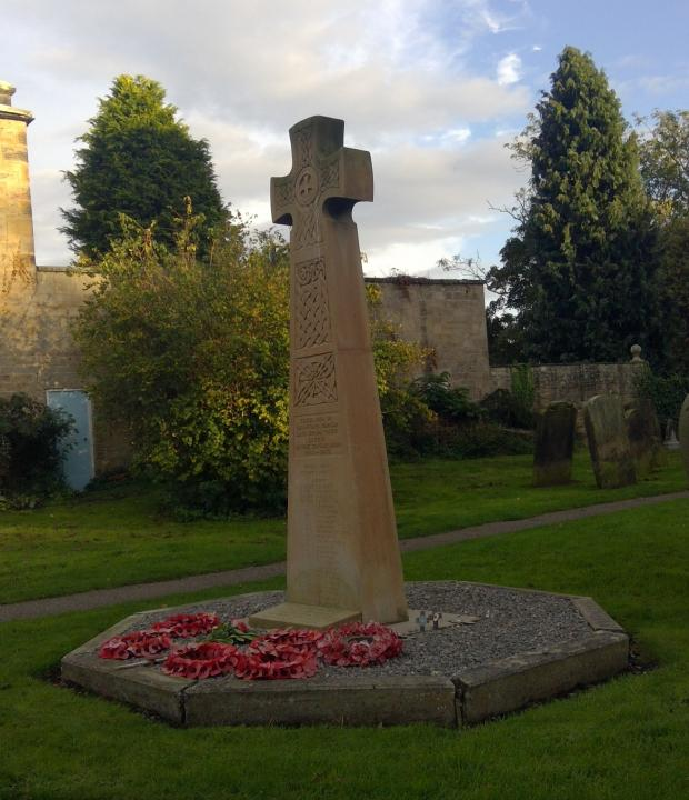 The Northern Echo: Gainford War Memorial today. Picture courtesy of Gillian Hunt