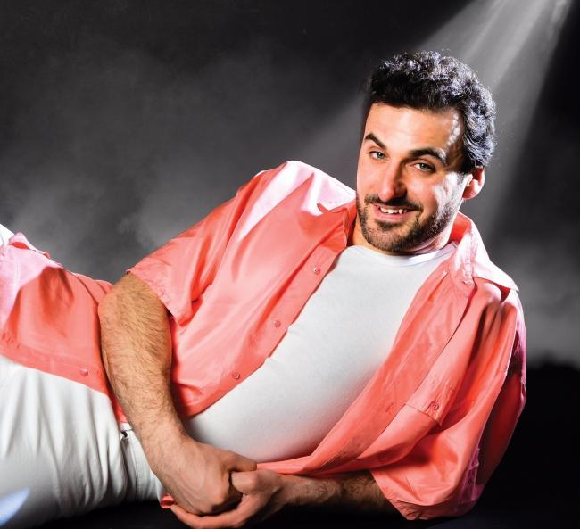 Stand-up comedian Patrick Monahan landed at Teesside Airport as a four-year-old as an immigrant from Iran