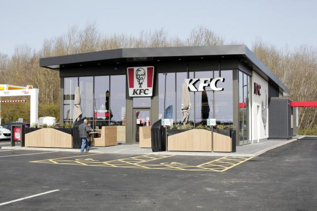 The new KFC at Forrest Park in Newton Aycliffe Picture: STU BOULTON