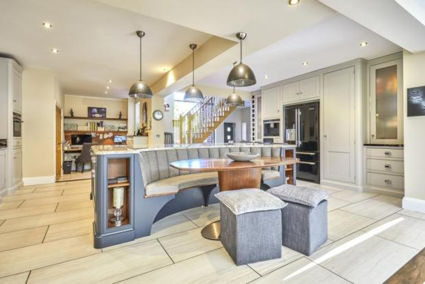 The Northern Echo: The large kitchen space. Photo taken from Croft Residential/Rightmove