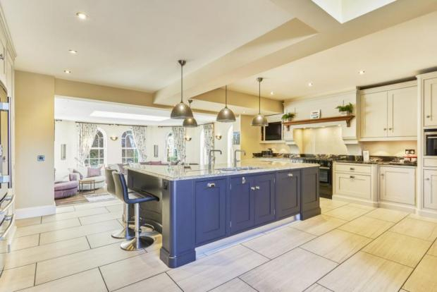 The Northern Echo: The kitchen. Photo taken from Croft Residential/Rightmove