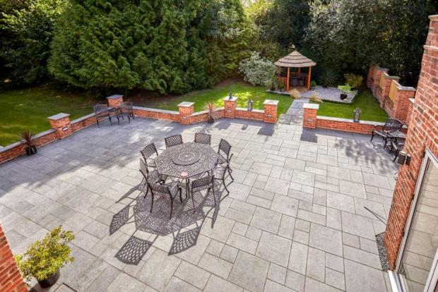 The Northern Echo: A place to eat and relax outside. Photo taken from Croft Residential/Rightmove