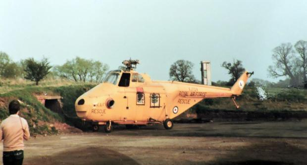 The Northern Echo: What looks like a Westland Whirlwind helicopter