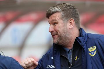 Oxford accuse Sunderland staff member of headbutting goalkeeper