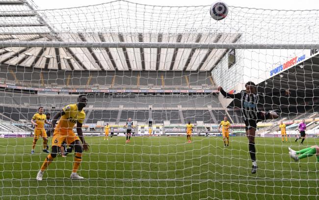 Joe Willock lashes home Newcastle's late equaliser