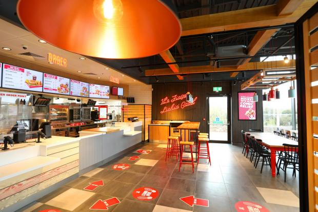 The Northern Echo: Inside the new Newton Aycliffe KFC