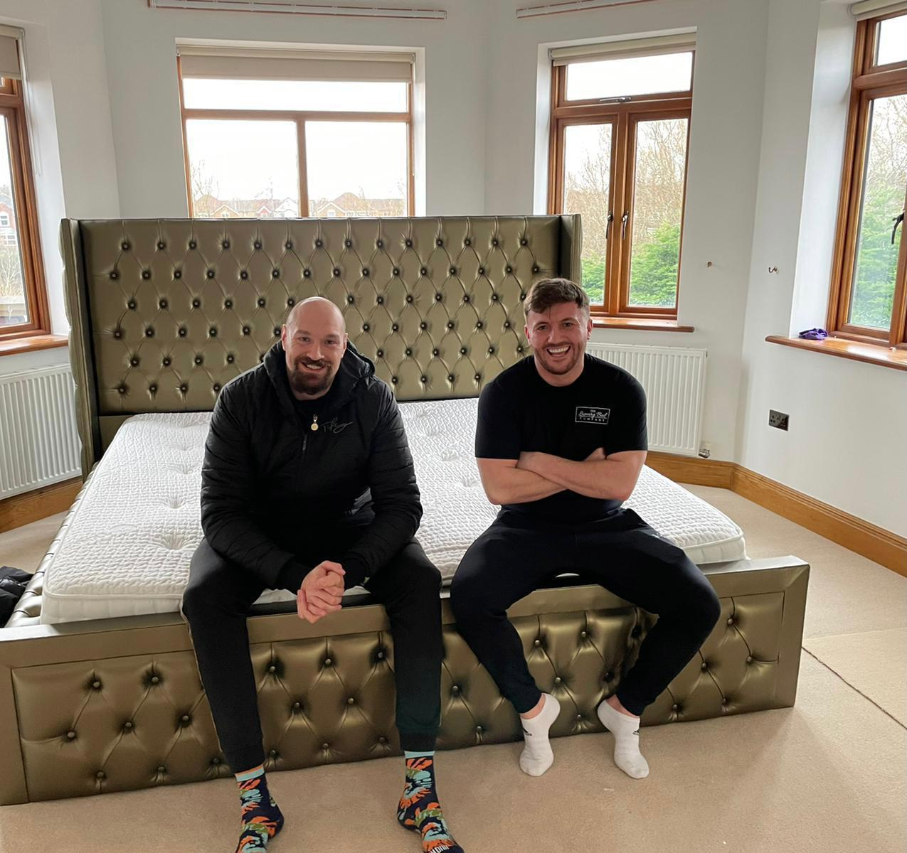 Darlington businessman on how he went from Gumtree to selling beds to celebrities like Tyson Fury and Scarlett Moffatt