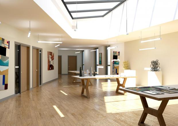 The Northern Echo: An artist impression of art atrium two