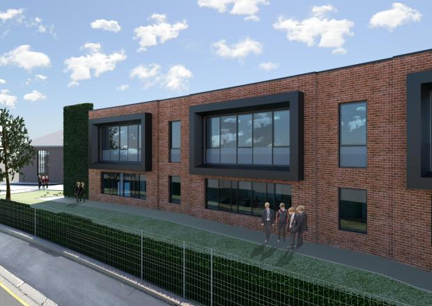 The Northern Echo: Artist impression of the external view from another angle