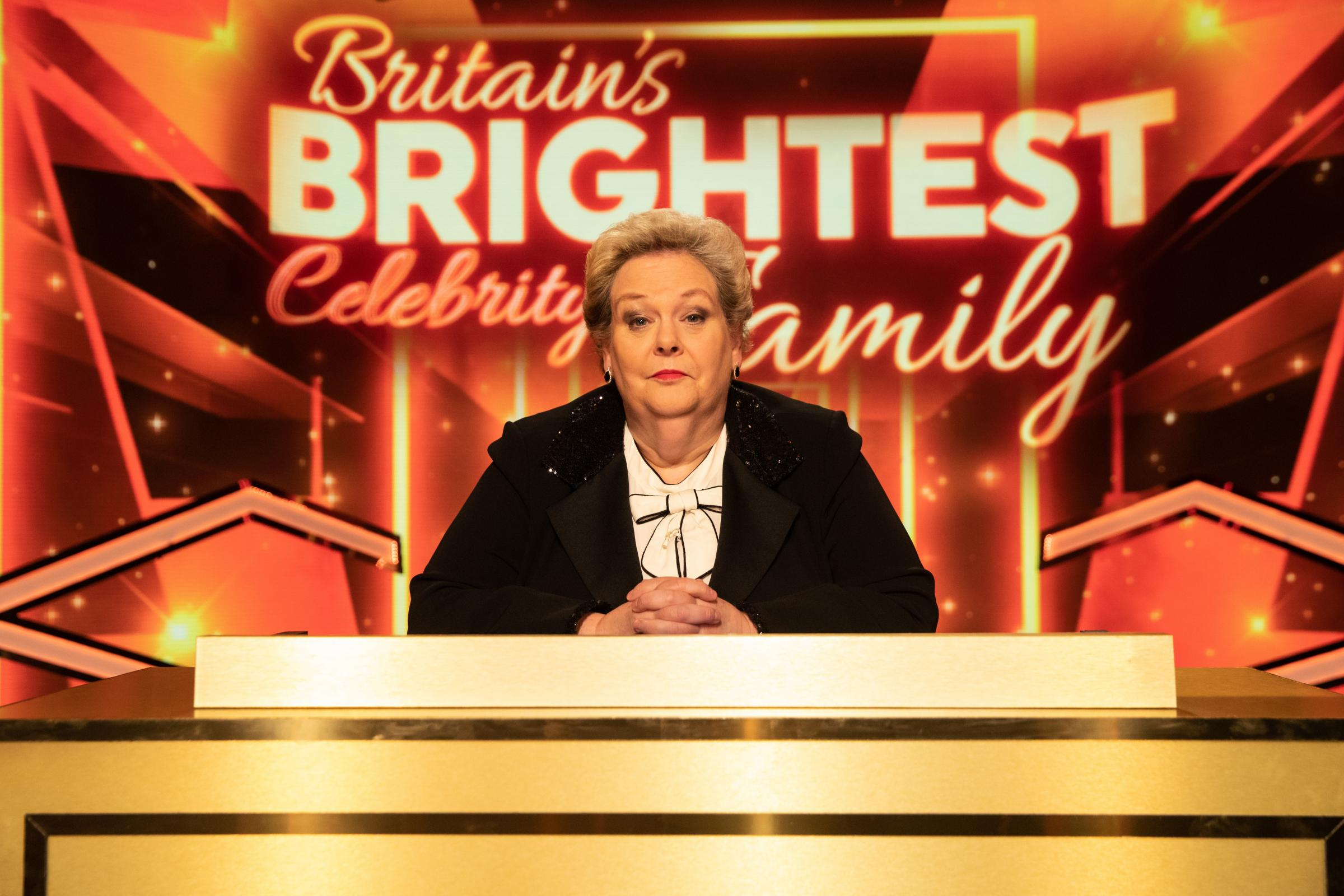Host The Governess Anne Hegerty