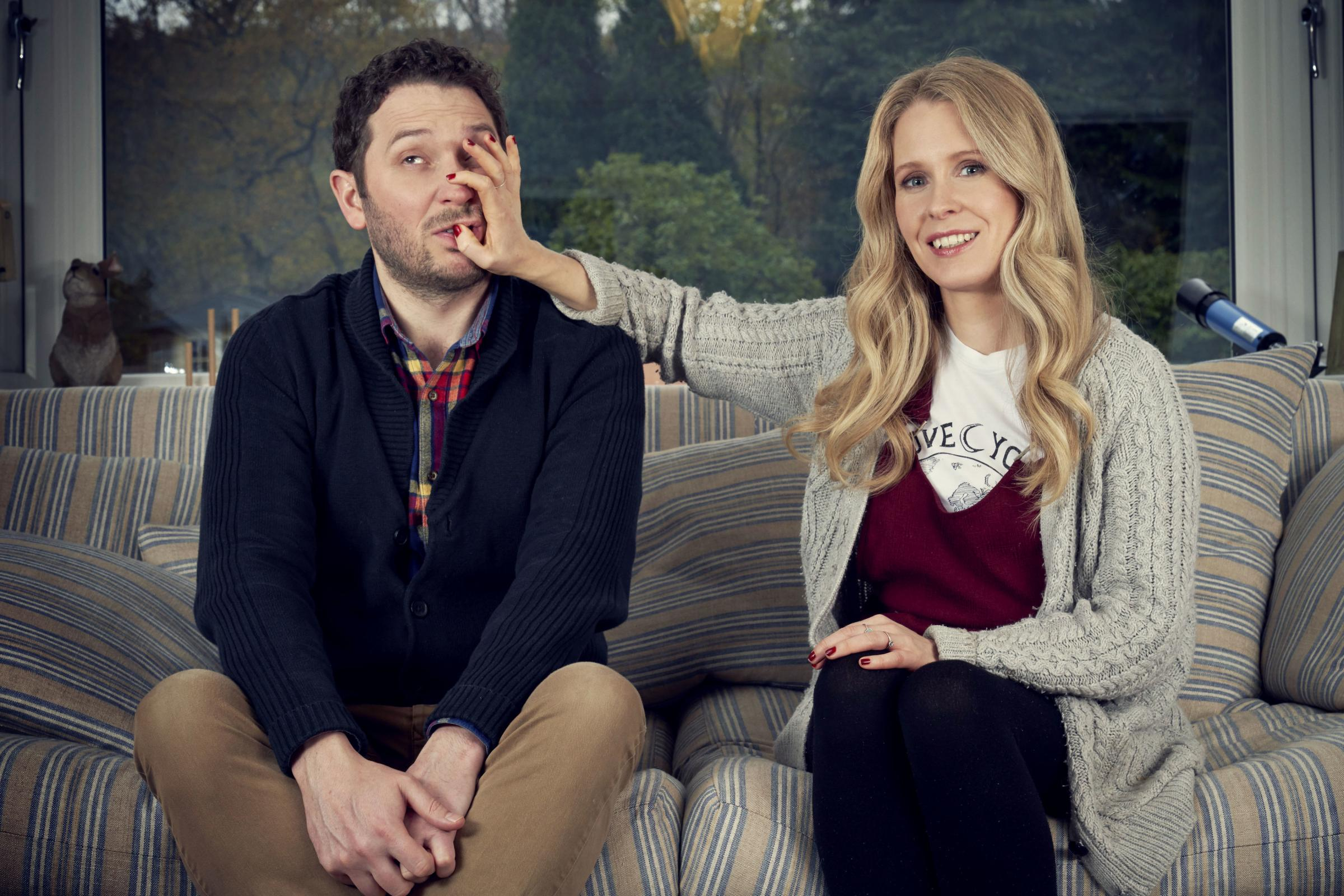 Meet the Richardsons: Jon Richardson and Lucy Beaumont