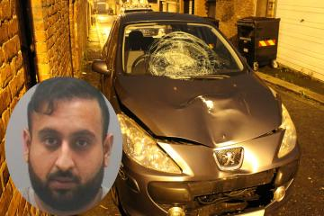 Dangerous driver jailed after mowing down Newcastle student