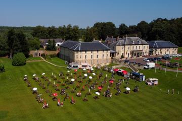 County Durham's biggest beer garden returns to Hardwick Hall