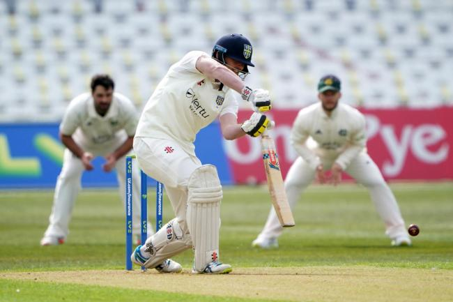 Durham's David Bedingham bats during the County Championship match at Trent Bridge Picture: ZAC GOODWIN/PA WIRE