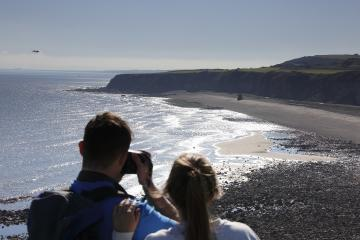 Council urges coastline visitors to be respectful of nature