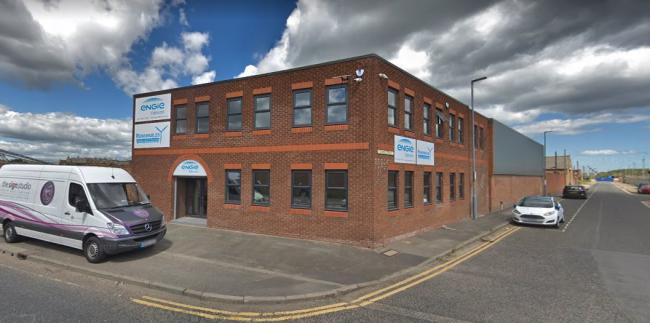 The ENGIE Fabricom office in Middlesbrough Picture: Google