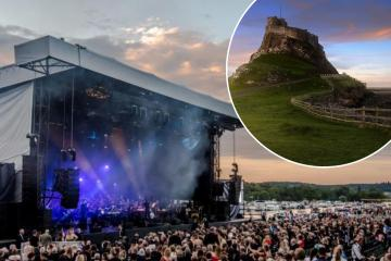 Dizzee Rascal joins Groove Armada at Lindisfarne Festival